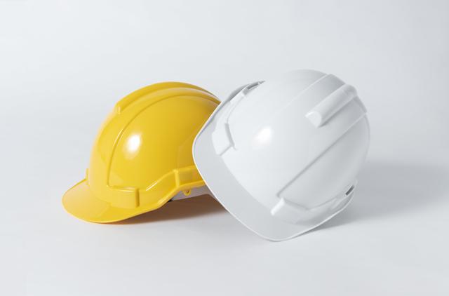 現場作業用ヘルメット