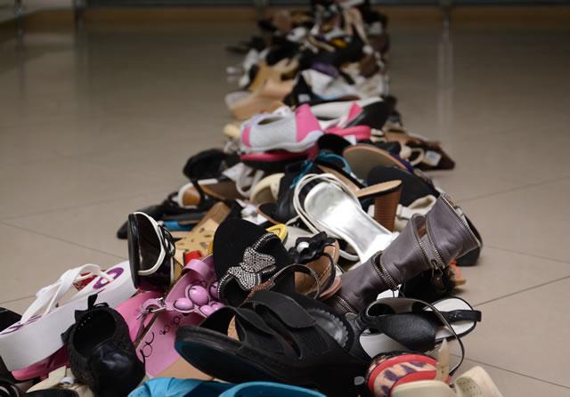 靴 捨て方