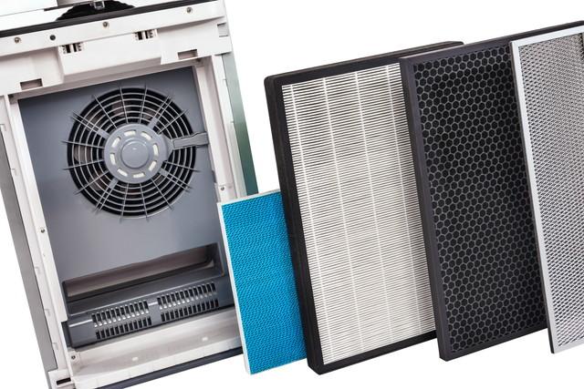 一連のフィルターが付いている多段式空気清浄機