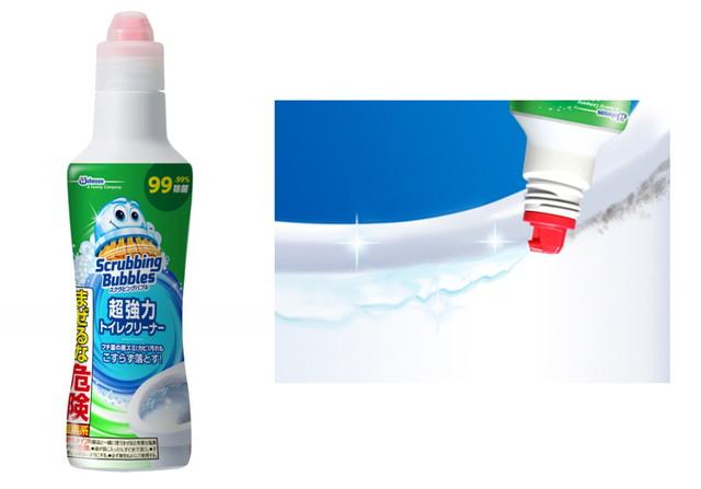 スクラビングバブル トイレ洗浄 超強力トイレクリーナー 塩素系 400g