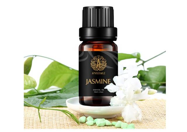 phrosmile ジャスミン エッセンシャル オイル FDA 認定 100% ピュア ジャスミン オイル、有機治療グレードのアロマテラピー エッセンシャル オイル 10mL/0.33oz