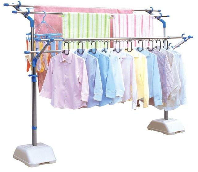 アイリスオーヤマ 洗濯物干し 布団干し ベランダ 物干し 約5人分 ブロー台セット