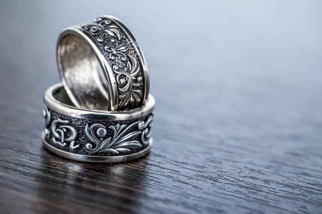 シルバーの指輪