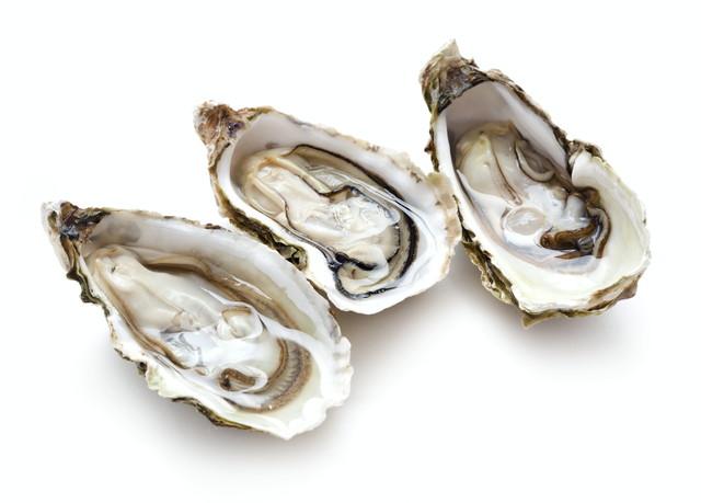 調理中の牡蠣