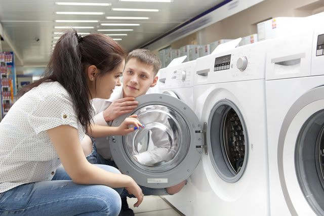 洗濯機購入