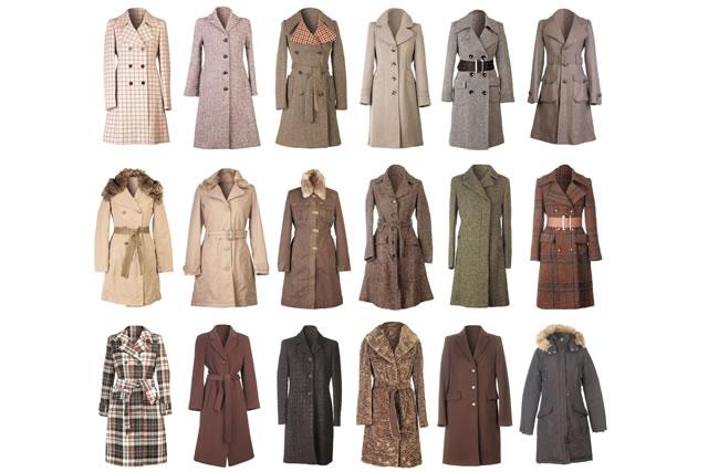 たくさんのコート