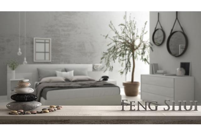 観葉植物が置いてある寝室