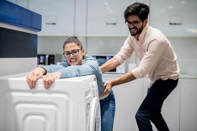 洗濯機が持てない夫婦