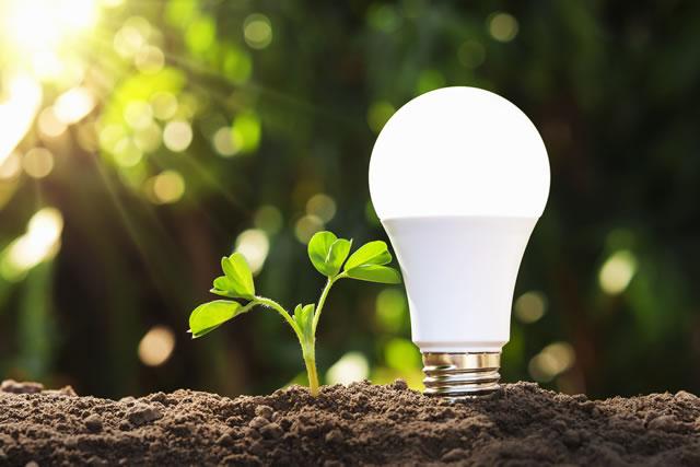 消費電力の少ないLED電球