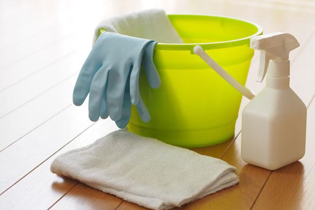 フローリングの掃除用具