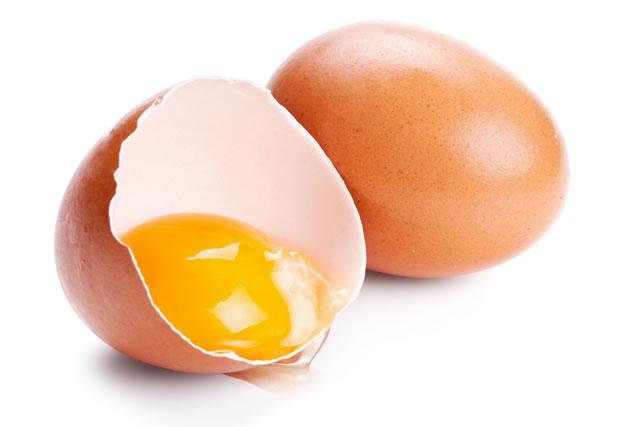 中身のみえる卵