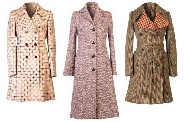 3種類のコート