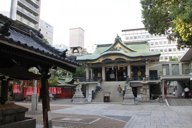 難波神社(なんばじんじゃ)