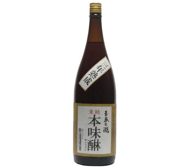 玉泉白瀧 純米本味醂