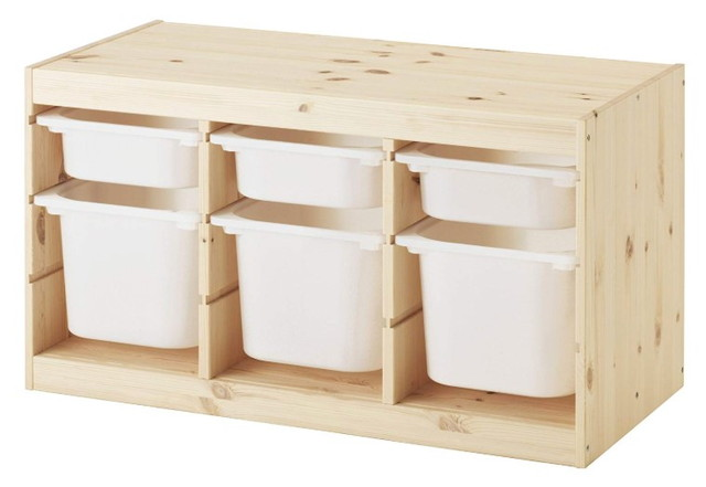 IKEA TROFAST 収納コンビネーション ボックス付き