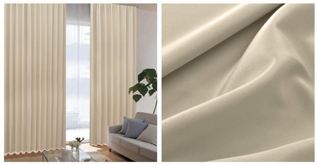 断熱仕様のカーテン