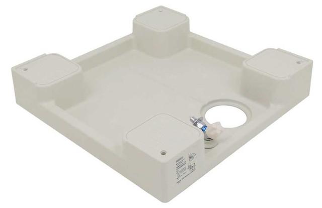 カクダイ 洗濯機用防水パン 水栓付 426-501