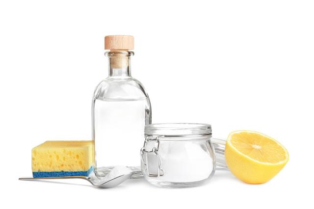 クエン酸とレモンとスポンジ