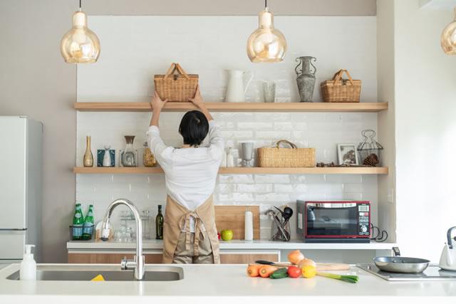 キッチン 男性