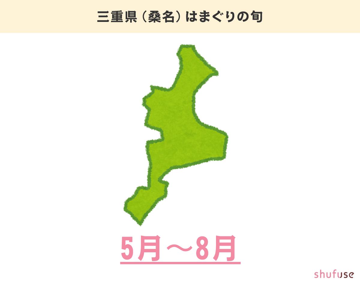 三重県(桑名)のはまぐりの旬
