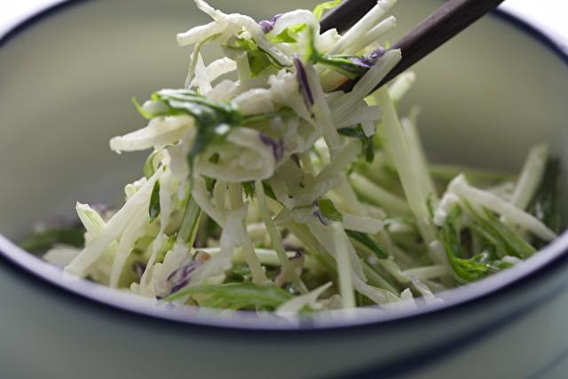 水菜のマヨネーズサラダ