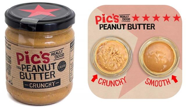 Pic's Peanut Butter ピックスピーナッツバター あらびきクランチ