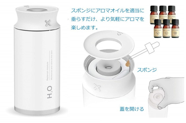 加湿器 卓上 アロマ 2020最新版 人気ランキング おしゃれ 超音波式 卓上加湿器 USB給電 超静音