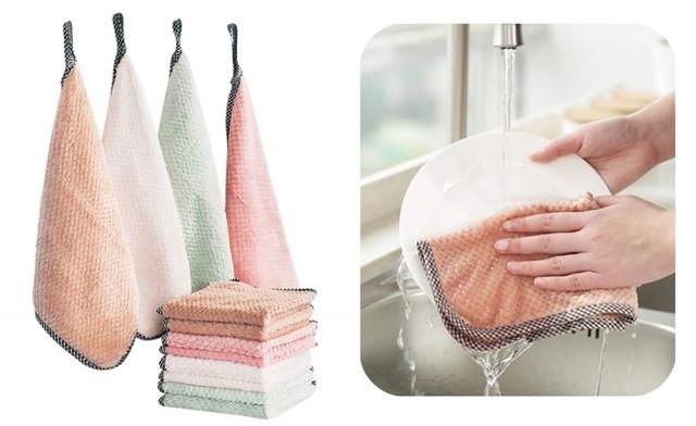 EXTSUD 雑巾 ふきん 食器洗うタオル 12枚組