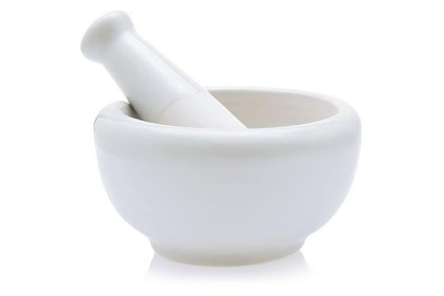 白いすり鉢