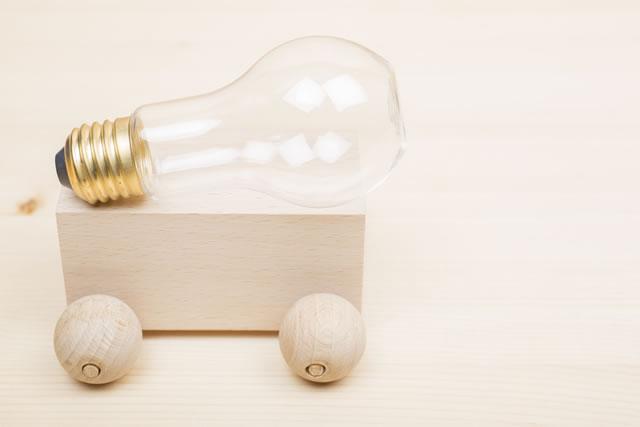 電球と雑貨