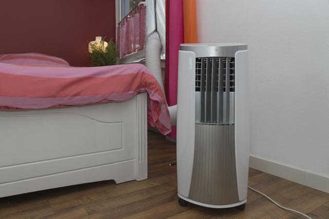 床置きタイプのエアコン