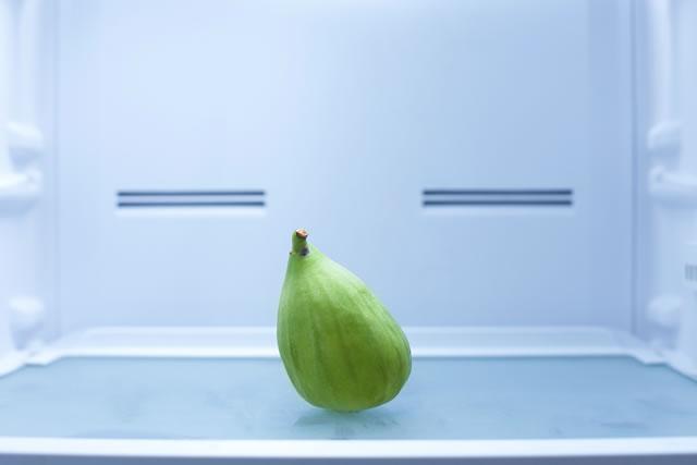 冷蔵庫に入ったいちじく
