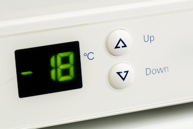 冷凍庫の温度