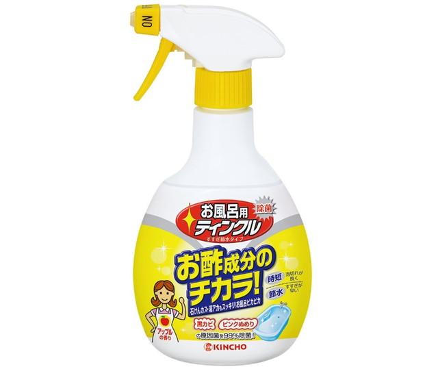 お風呂用ティンクル 浴室・浴槽洗剤 水垢落とし スプレー 400mL