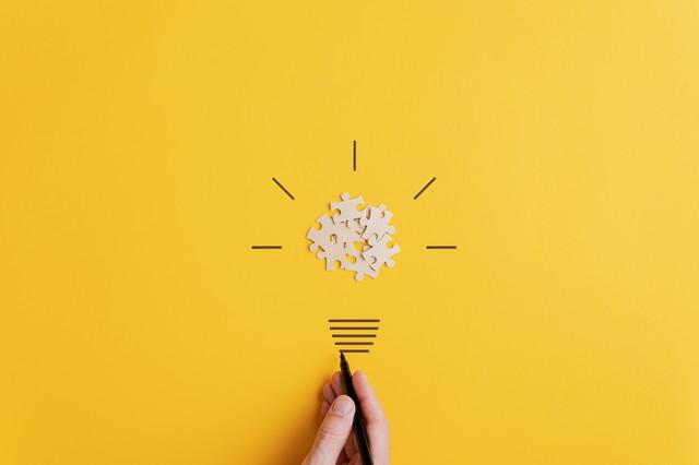 アイデアの概念的なイメージ