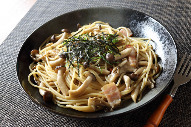 和風きのこスパゲッティ