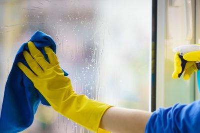 ガラス掃除
