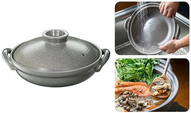 イシガキ産業「浅型土鍋」