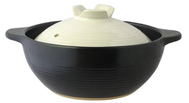 ふきこぼれにくい深型土鍋「宴(うたげ)」