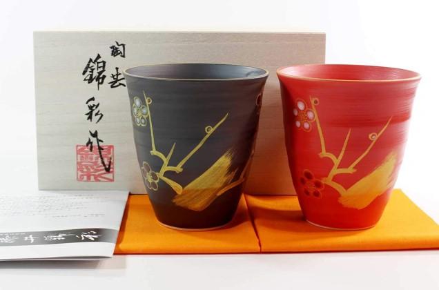有田焼の湯呑みペアセット