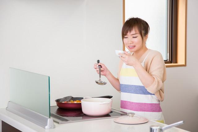 料理が苦手な女性
