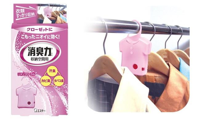 消臭力 収納空間用 消臭芳香剤 クローゼット・洋服ダンス・ロッカー用 本体 リネンフローラル 32g
