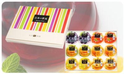 【九州旬食館】 日本の果実 フルーツゼリー 6種 8個入り