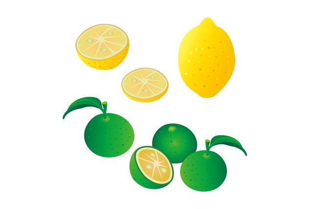 すだちとレモン