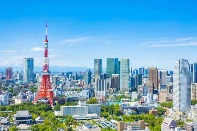 東京タワーが見える景色