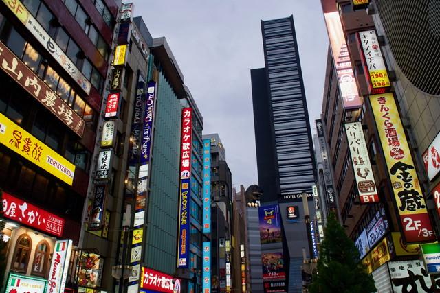 治安の悪い東京