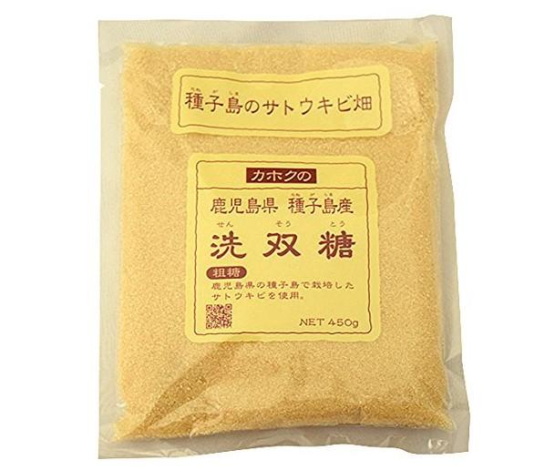種子島産サトウキビ使用砂糖洗双糖