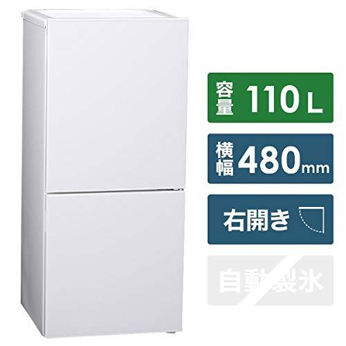 ツインバード 2ドア冷凍冷蔵庫 110L