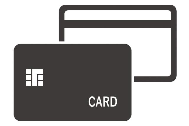 カードのビジネスアイコン
