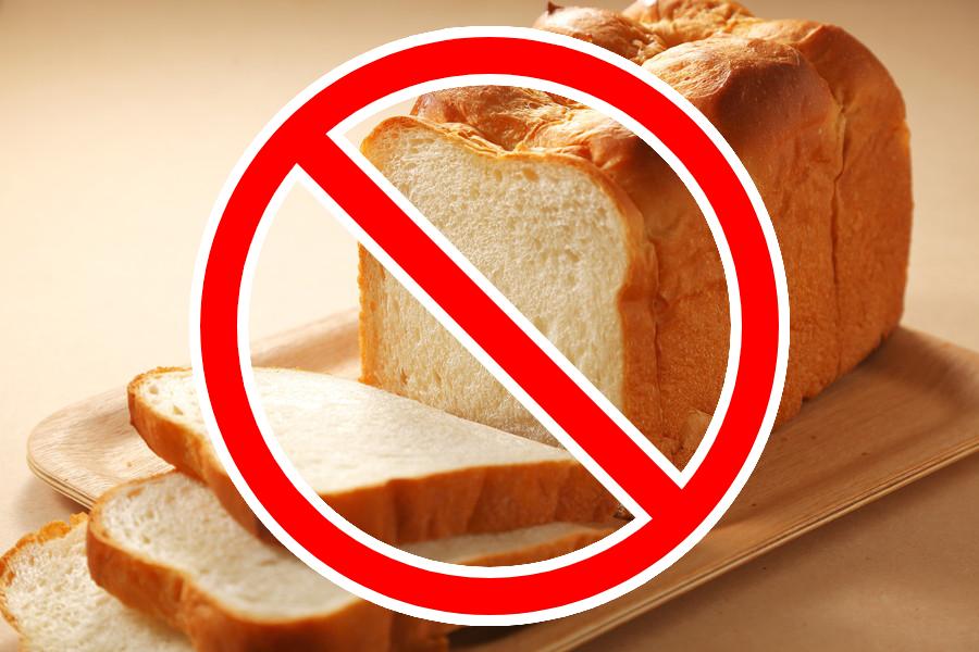 食パンの間違った保存方法